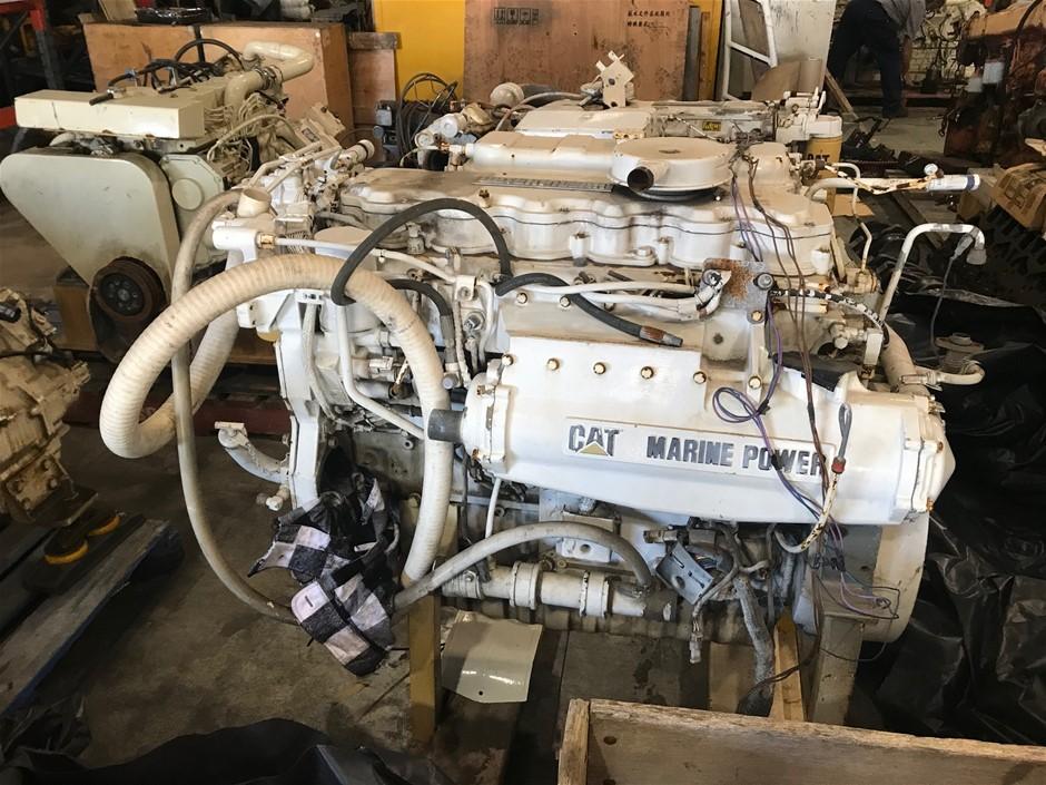 Caterpillar C7 Marine Diesel Engine