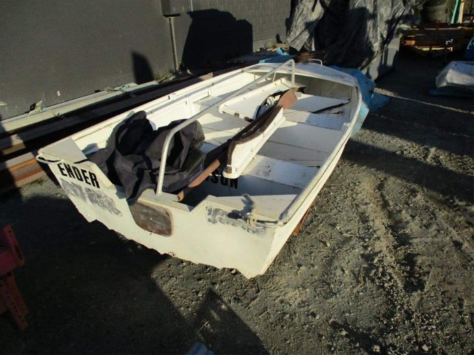 Aluminium Boat. Stessl
