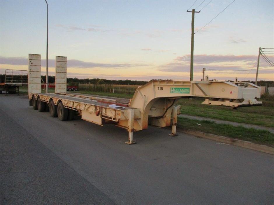 Haulmark Quad Axle Float