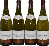 Olivier Tricon Bourgogne Chardonnay 2010 (4x 750mL), France. Cork.