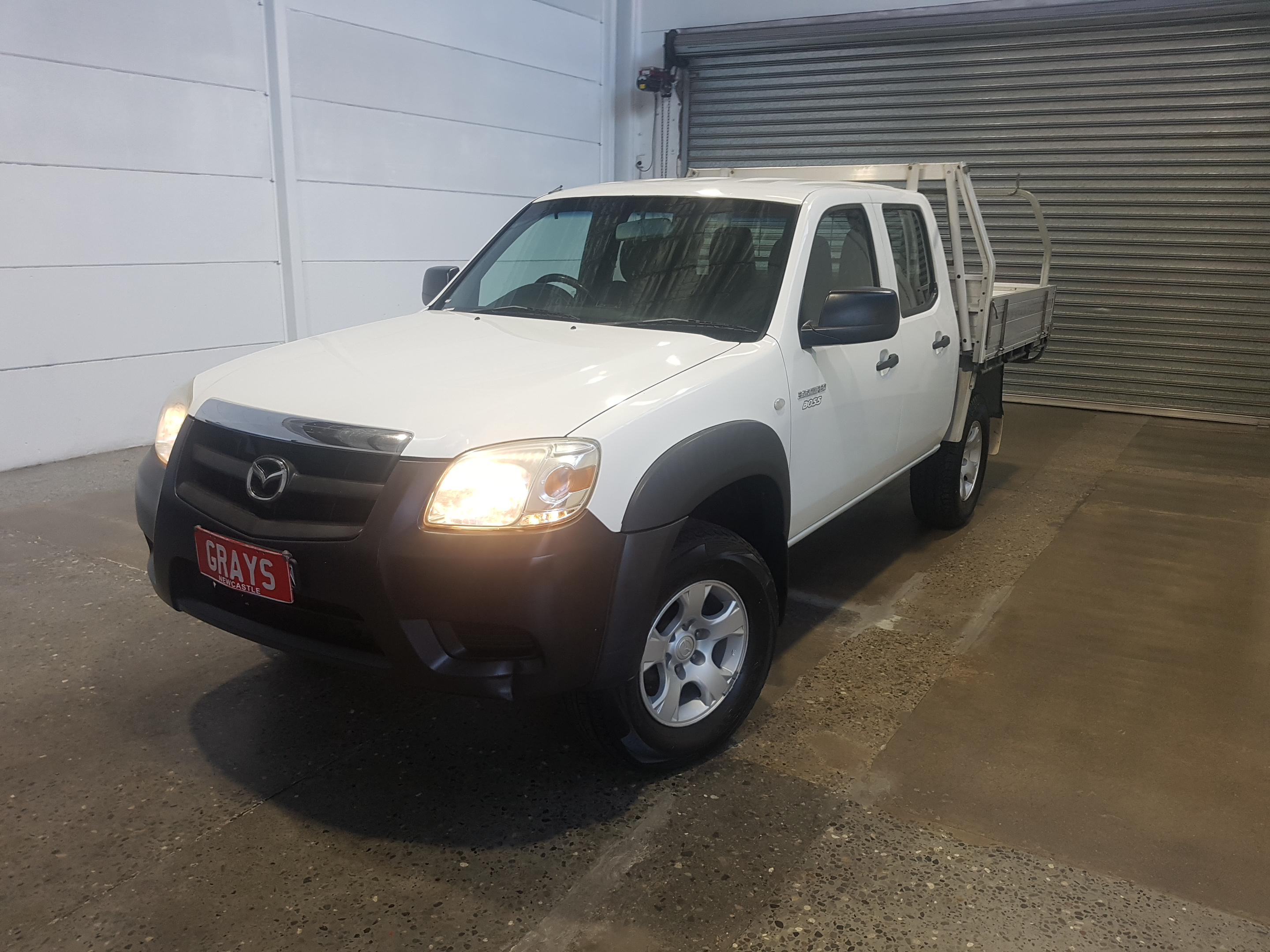 2010 Mazda BT-50 DX B3000 Turbo Diesel Manual Crew Cab Chassis