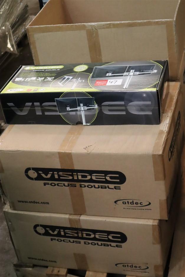 Qty 16 x Atdec Visidec Focus Display Arms