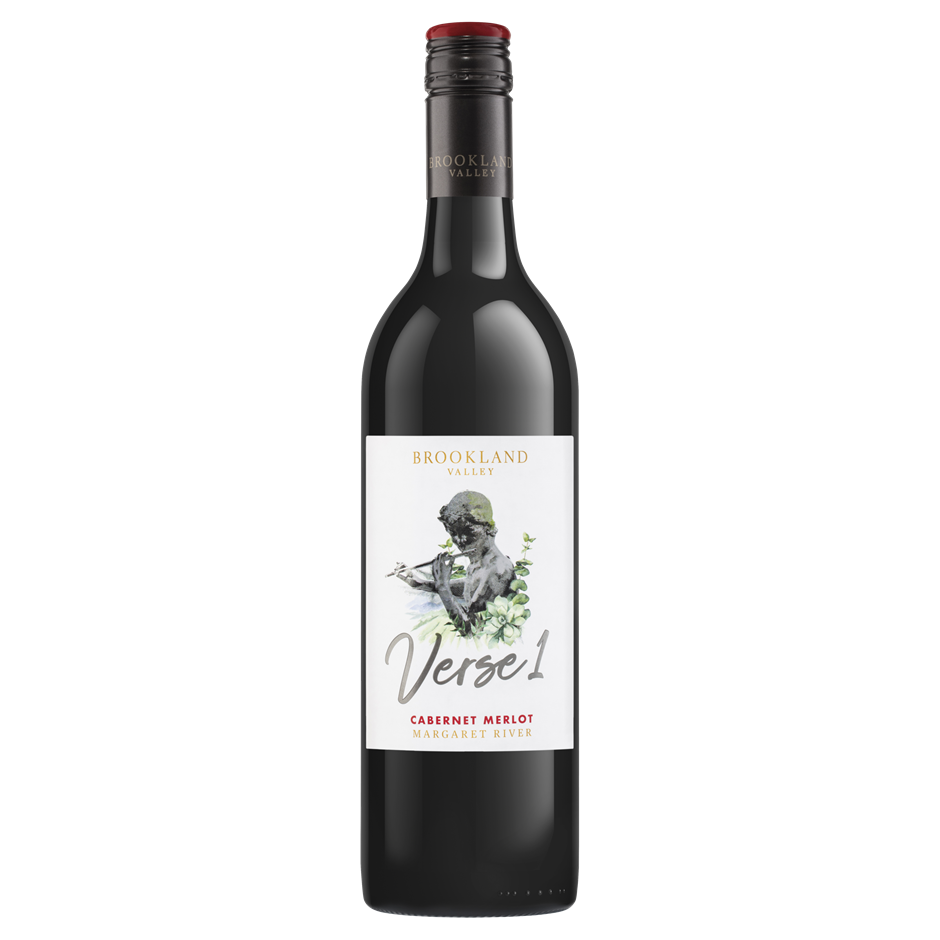 Brookland Valley Verse 1 Cabernet Merlot 2019 (6 x 750mL), WA.