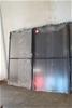 2x Alloy Frame Fly Screen Hinge Doors