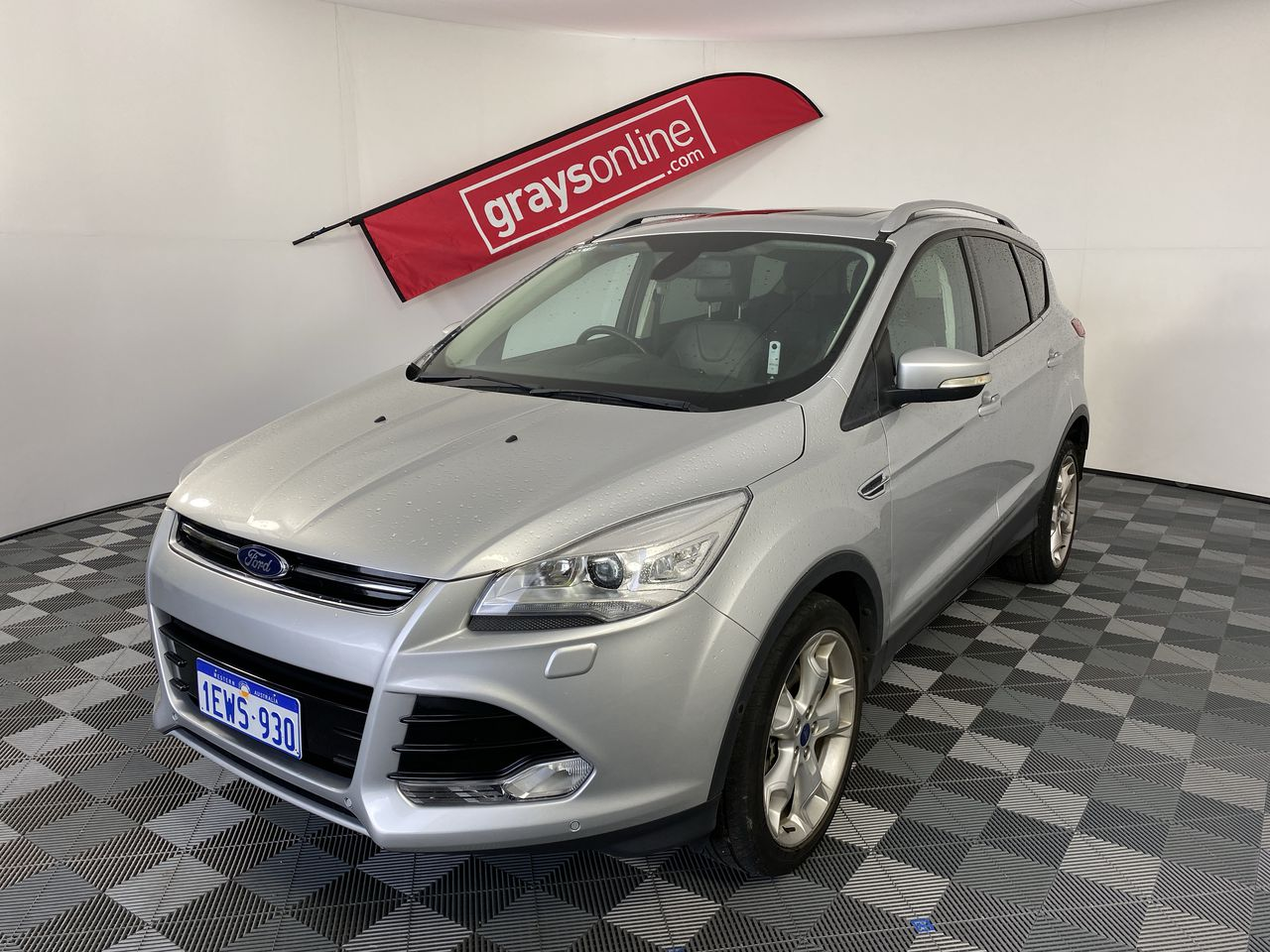 2013 Ford Kuga AWD Titanium TF Turbo Diesel Automatic Wagon(WOVR-Inspected)