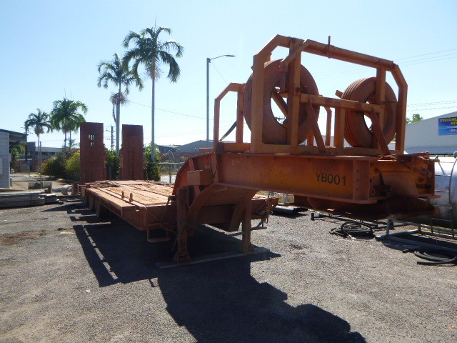 AZMEB Triaxle Low Loader Dolly