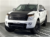 Unreserved 2015 Ford Ranger XLT 4X4 PX Turbo Diesel