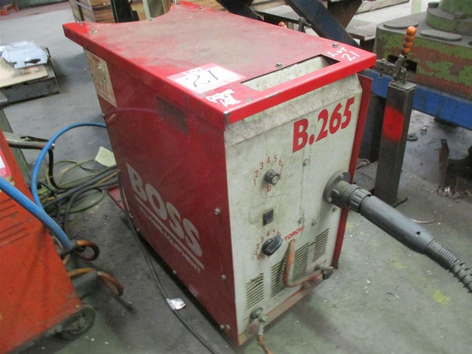 Boss Welding Equipment B.265 Mig Welder