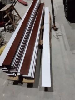 Mix quantity kitchen timber kickboards