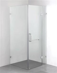 900 x 800mm Frameless 10mm Glass Shower
