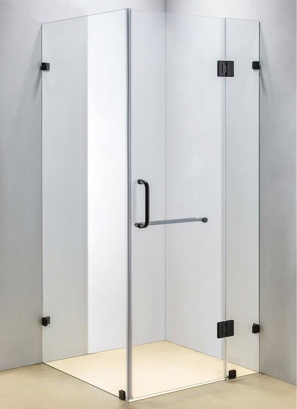 1000 x 1000mm Frameless 10mm Glass Shower Screen Della Francesca