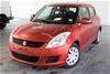 2013 Suzuki Swift GL FZ Automatic Hatchback 101262km