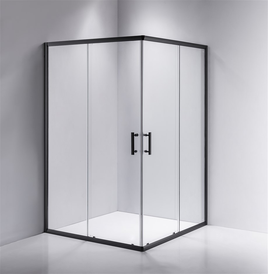 1200 x 1000mm Sliding Door Nano Safety Glass Shower Screen Della Francesca