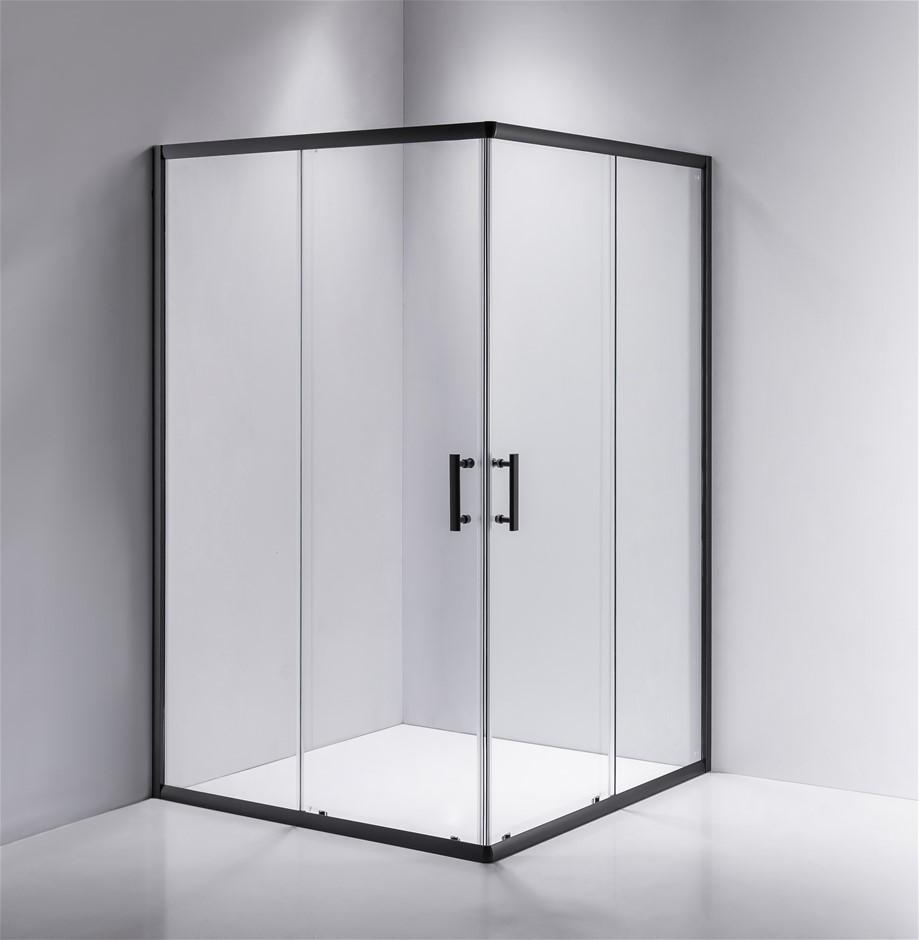 1200 x 1000mm Sliding Door Nano Safety Glass Shower Screen Della Francesca