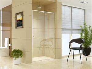Adjustable Semi Frameless Shower Screen