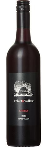 Velvet & Willow Shiraz 2015 (12 x 750mL) Clare Valley, SA