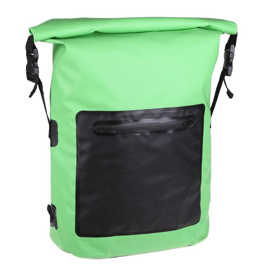Waterproof Backpack Dry Bag 20Ltr, Light Green. Buyers Note - Discount Frei