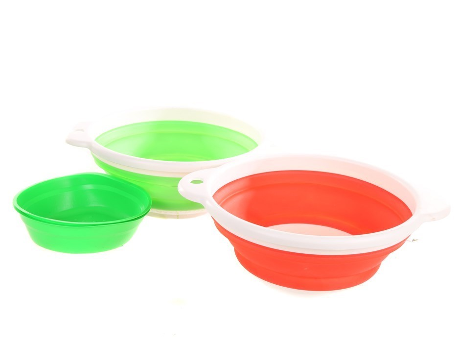 4pc Collapsible Camping Bowl Set. Buyers Note - Discount Freight Rates Appl