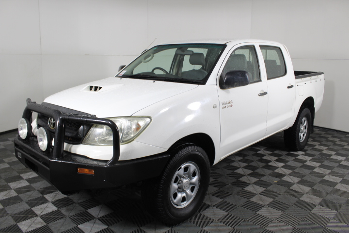 3/2011 Toyota Hilux SR T/Diesel 5spd Dual Cab 4WD Ute