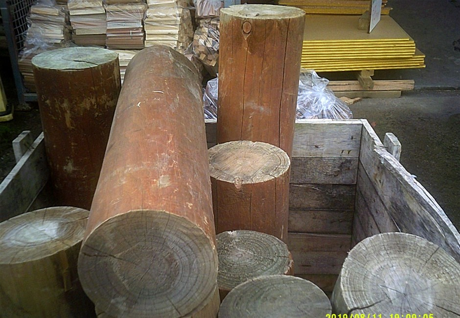 Quantity of Treated Pine Poles.