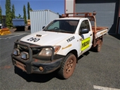 UNRESERVED 2007 Toyota Hilux 150 Ser 4WD Manual Ute