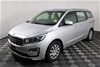 2018 Kia Carnival S YP T/Diesel Auto 8 Seats People Mover 40,995 km's