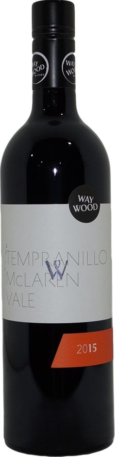 Waywood Wines McLaren Vale Tempranillo 2015 (6x 750mL), SA. Screwcap.