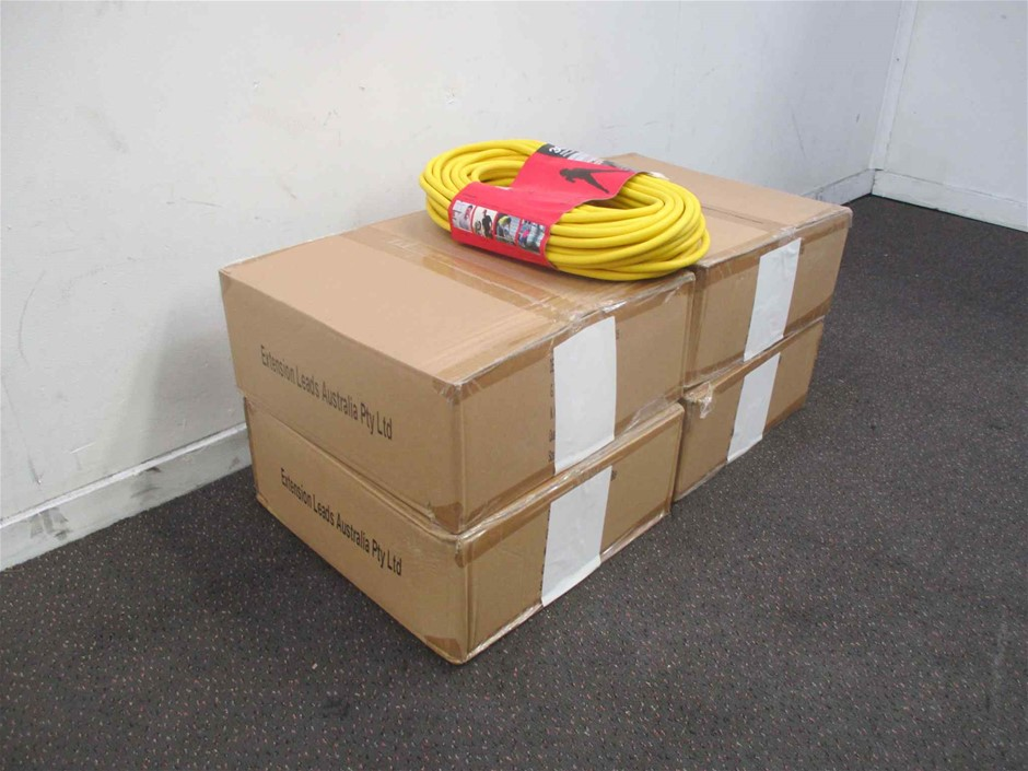 Extension Leads Aust 4 x Cartons of Extension Leads
