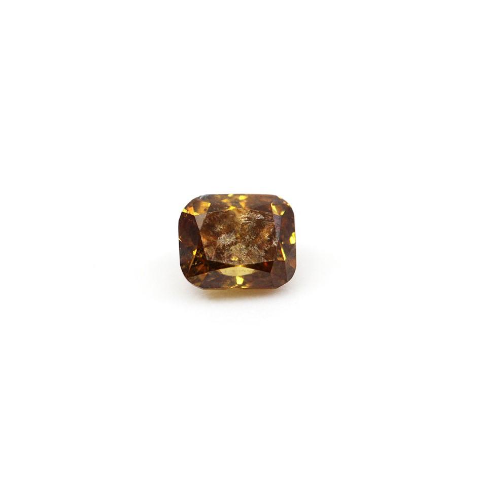 0.26 ct Orangy Brown Diamond