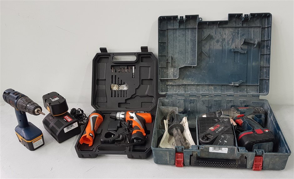 Bulk Lot Of Assorted Power Tool/ Kits