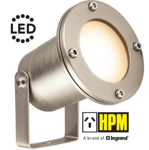 HPM TULI 12V LED Garden Light Pond Spotlight 4.5W 3000K IP68 DIY Stainless