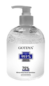 24 x GOTDYA 500ml Premium Hand Sanitizer