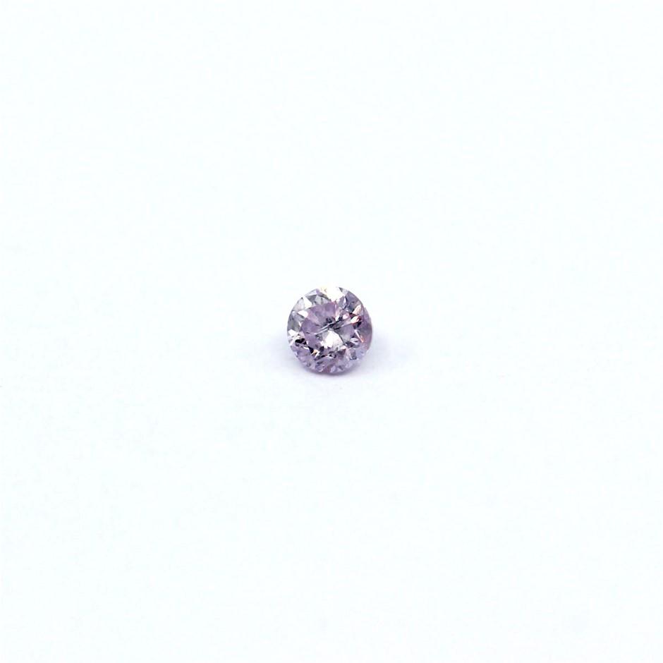 0.050 ct Pink Diamond