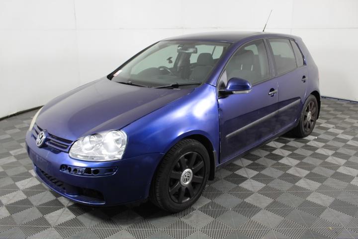 2007 (2008)Volkswagen Golf Comfortline T/Diesel Auto Hatchback (WOVR)