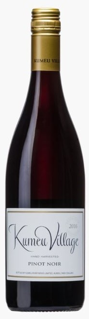 Kumeu River`Village` Pinot Noir 2019 (6 x 750mL), Auckland, NZ.