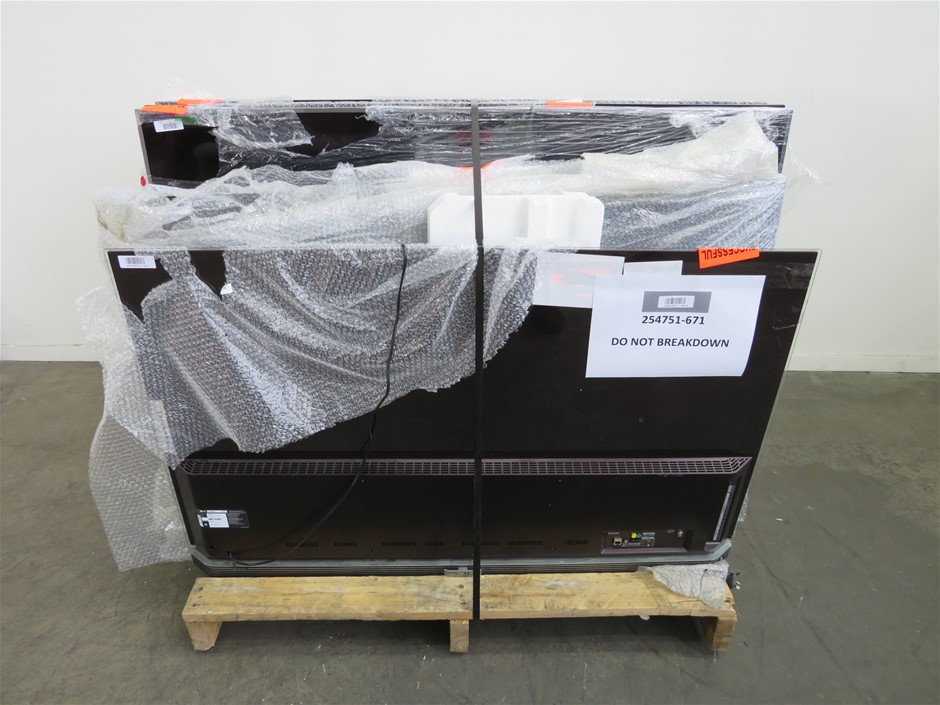 Pallet of Assorted Big Brands USED/UNTESTED Televisions