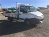 <p>2009 Iveco Daily  4 x 2 Tray Body Truck</p>