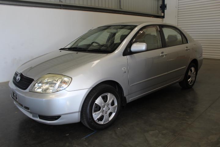 2002 Toyota Corolla Conquest Sedan, 131,140km