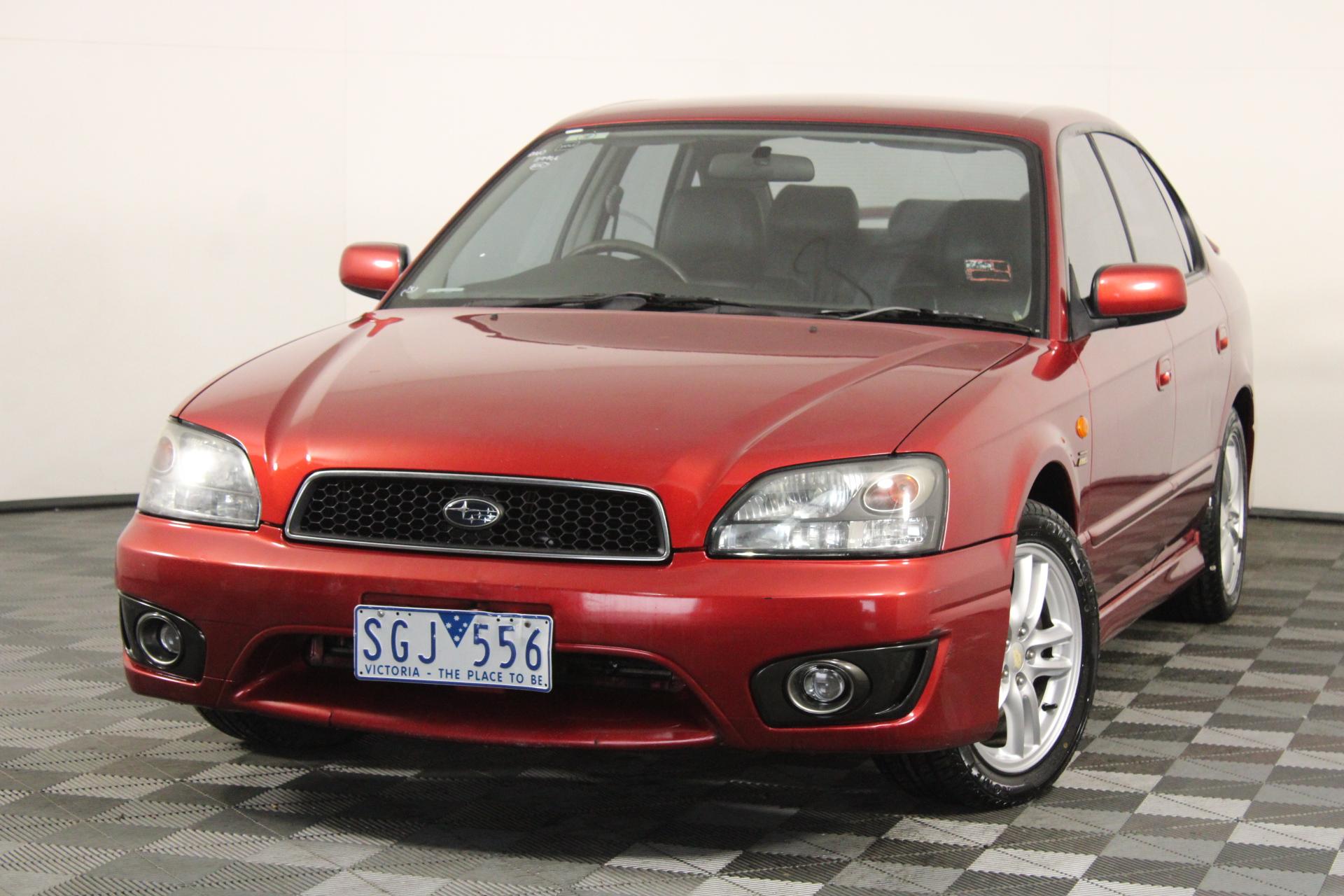 2003 Subaru Liberty Heritage (AWD) B3 Automatic Sedan