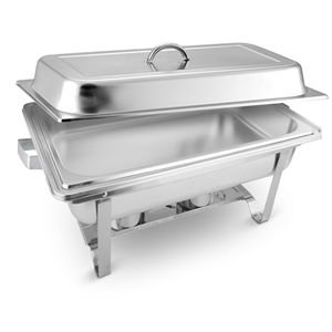 SOGA 9L Stainless Steel Chafing Food War