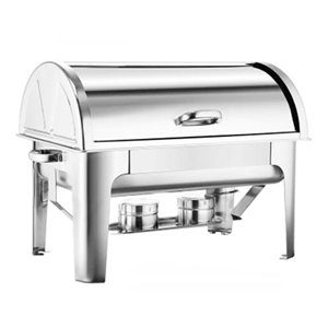 SOGA 2*4.5L Stainless Steel Roll Top Cha