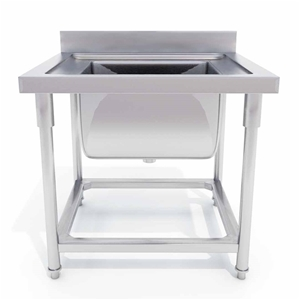 SOGA S/S Work Bench Sink Commercial Rest
