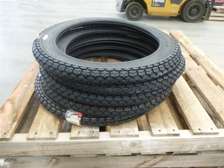 5x Set of VEE Rubber Performance Motorcycle Tyres
