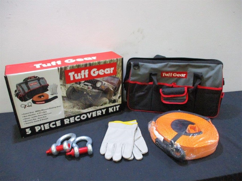 Tuff Gear 5 Piece Recovery Kit
