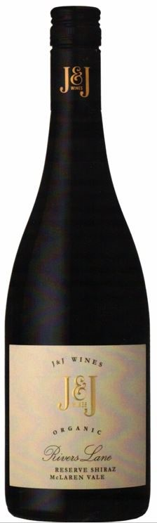 J & J Wines Rivers Lane Reserve Shiraz 2017 (6 x 750mL) McLaren Vale, SA