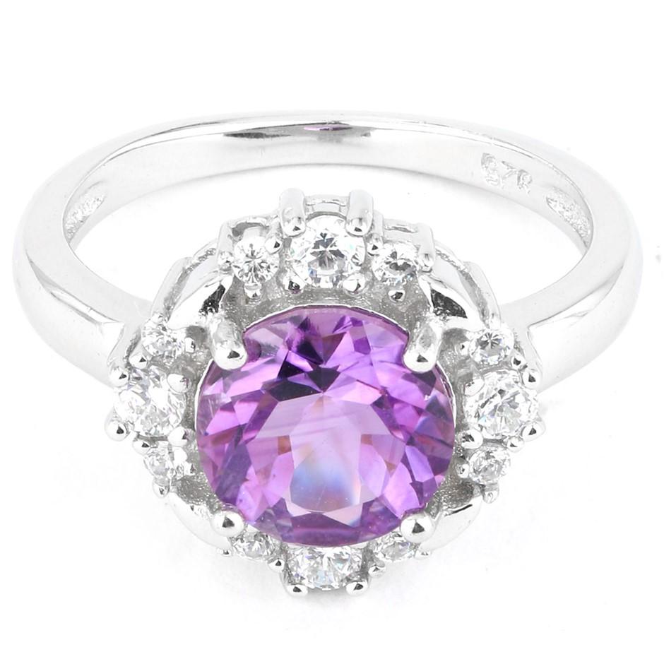 Sweet Genuine Amethyst ring