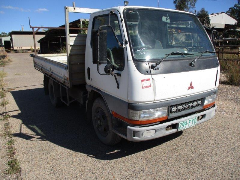 2000 Mitsubishi Canter L 500/600 4 x 2 Tipper Truck