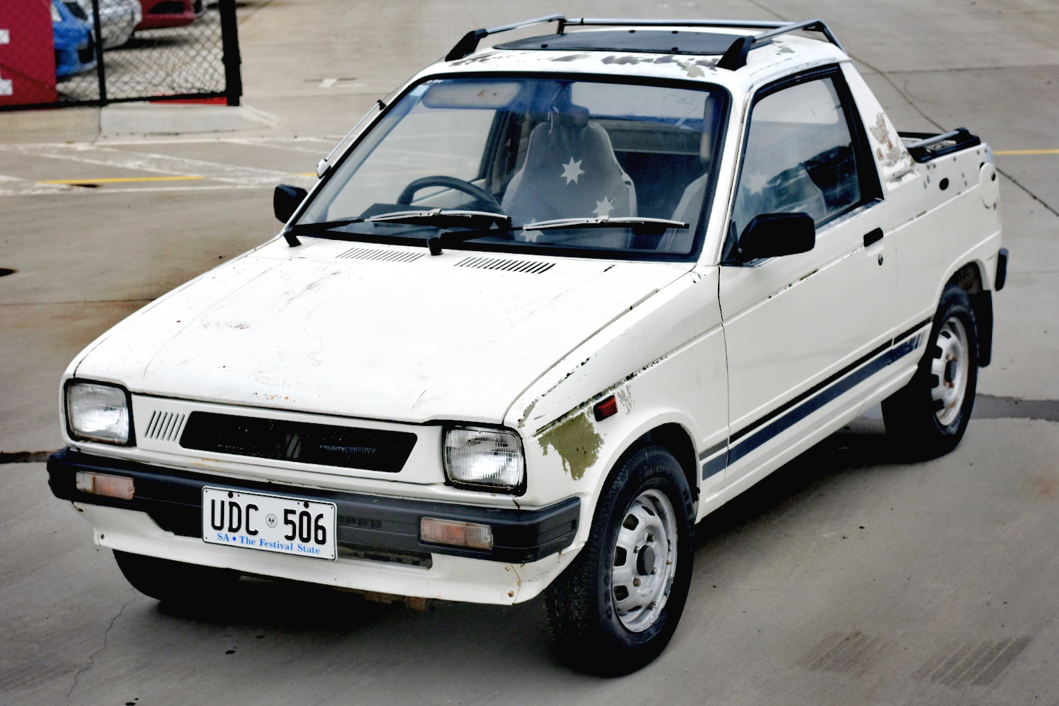 1986 Suzuki Mighty Boy Manual UTE