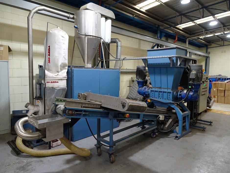 Circa 2016 E-Waste Crushing/Recycling Plant (Melrose Park, SA)