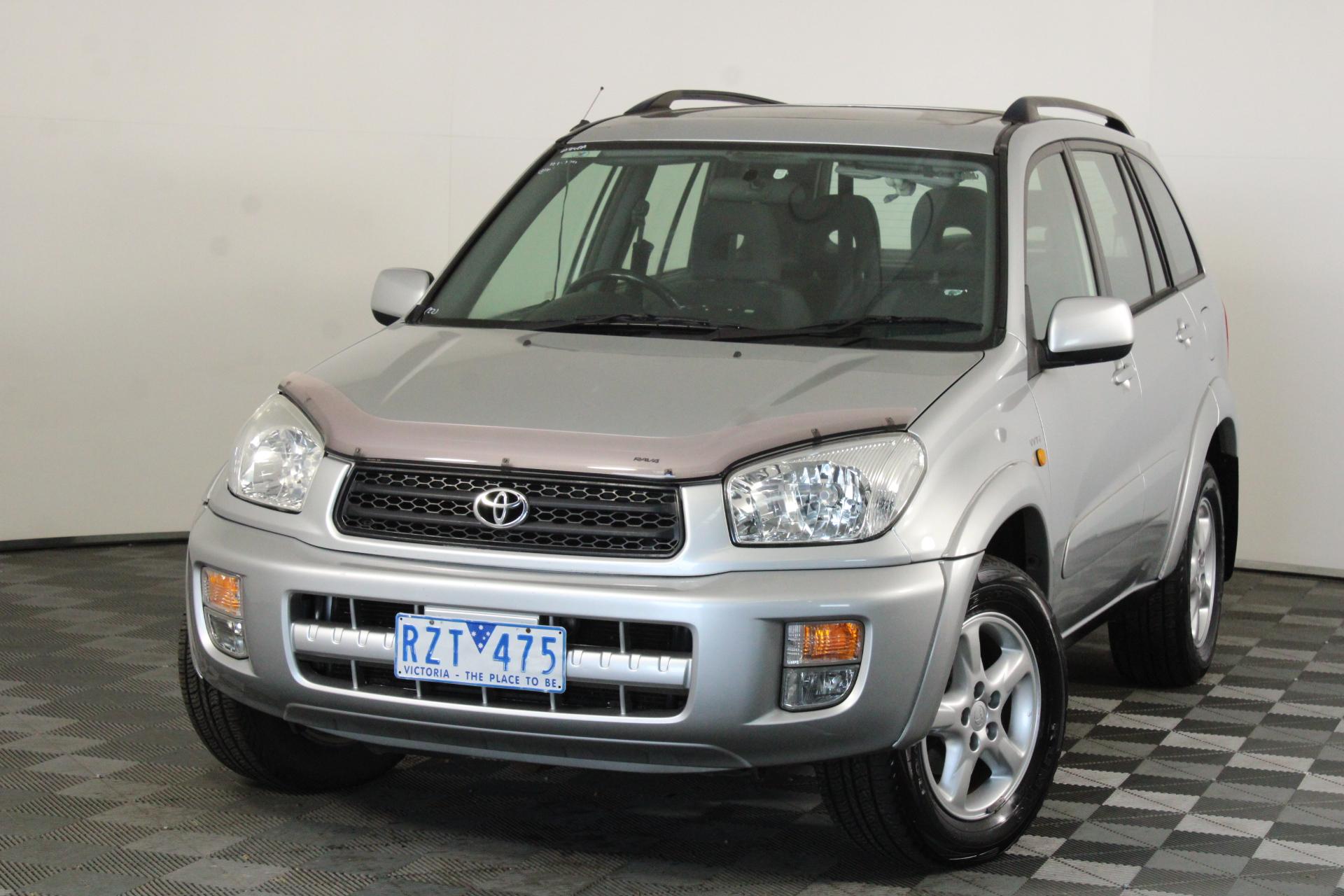 2002 Toyota Rav 4 Cruiser (4x4) Automatic Wagon